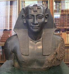 Ptolemy as Pharaoh of Egypt, British Museum, London