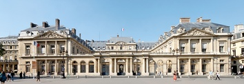 The Palais-Royal, residence of the Conseil d'État