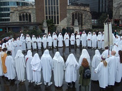 The Druid Order Ceremony at Tower Hill, London on the Spring Equinox of 2010