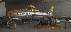 Republic F-84F Thunderstreak from the Evergreen Aviation & Space Museum