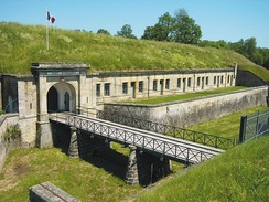 Entry, Fort d'Uxegney
