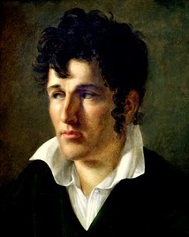 Young Chateaubriand, by Anne-Louis Girodet (c. 1790)