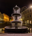 Fountain in New Square