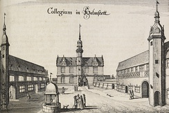 University of Helmstedt during the Syncretistic Controversy. Calixtus taught here.