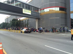 People line up to buy the new gold Kennedy half dollar, August 2014