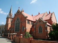A larger church in Kimberley, Northern Cape.