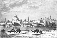 Mosul, on the bank of the Tigris, 1861