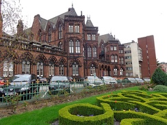 The Leeds General Infirmary (pictured) and St James's University Hospital incorporate the Leeds School of Medicine