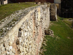 Section of Muslim Walls of Madrid. For a list of all the walls, see: Walls of Madrid