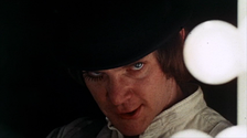 McDowell in A Clockwork Orange (1971)