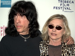 Marky Ramone of the Ramones and Debbie Harry of Blondie attend a screening of Burning Down the House: The Story of CBGB, a documentary on CBGB's heyday, at the 2009 Tribeca Film Festival.