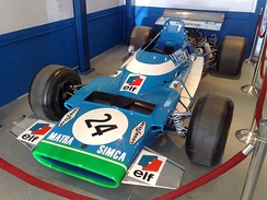 Chris Amon's Matra MS120 racing car, used in the 1971 Argentine Grand Prix