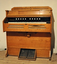 A smaller variety of pump organ