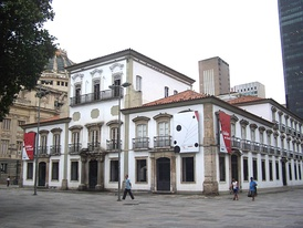 The Paço Imperial, 18th century-colonial palace located in Rio de Janeiro, used as dispatch house by King João VI of Portugal and later by Emperor Pedro I of Brazil.