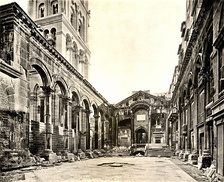 The Peristyle of Diocletian's Palace, collotype (1909).