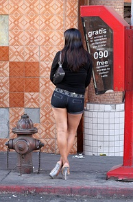 Prostitute in Mexico, 2009