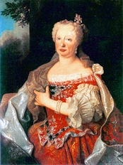 Mary Anne of Austria around 1729
