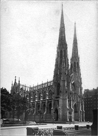1913 photograph of the cathedral