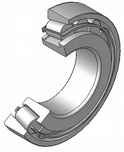 A tapered roller bearing