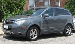 The Saturn Vue Green Line is a mild hybrid.