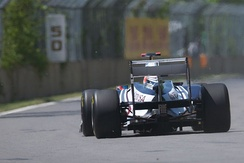 The controversy covered the changing of the usage of blowing exhaust fumes through the diffuser at the rear of the car
