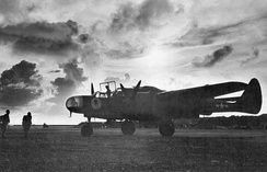 P-61A-1-NO Black Widow 42-5524, 6th Night Fighter Squadron, Being readied for a mission, East Field, Saipan, Mariana Islands, September 1944