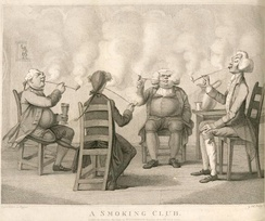 An illustration from Frederick William Fairholt's Tobacco, its History and Association, 1859