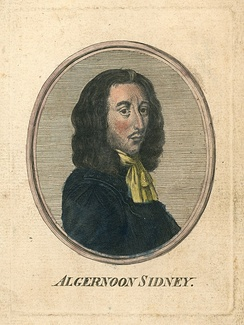 18th century hand-coloured engraving of Sidney. Unknown engraver, unknown colourist.