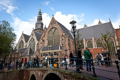 The Oude Kerk was consecrated in 1306