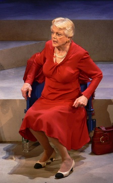 Angela Lansbury in Deuce, New York City, 2007