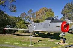 CAC Sabre Mk 32 at the Wagga Wagga RAAF Museum