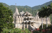 Ranakpur Jain temple was built in the 15th century with the support of the Rajput state of Mewar.