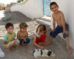 Kurdish children in Sulaymaniyah.