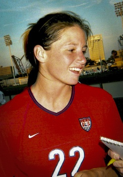 Danielle Fotopoulos, college and US Woman's National Soccer team player