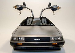DeLorean with Lotus designed chassis