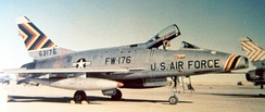 474th Wing commander's F-100