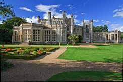 Highcliffe Castle, a Grade I listed mansion built between 1831 and 1835