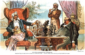 His Little Hawaiian Game Checkmated, 1894