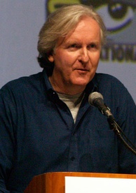 James Cameron at the 2009 San Diego Comic-Con promoting Avatar.