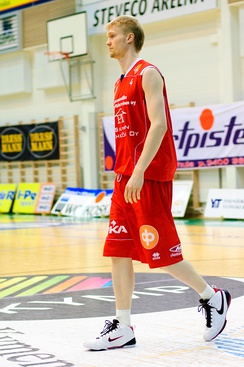 Joonas Suotamo, a Finnish-American former professional player, is 6 feet 11 inches (2.11 m) tall