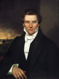 Joseph Smith, American religious leader and founder of Mormonism and the Latter Day Saint movement