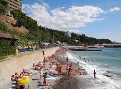 Tourism is an important sector of Crimea's economy