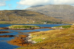 South Uist is the second-largest island of the Outer Hebrides