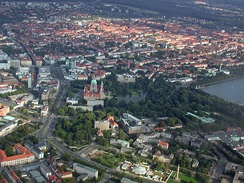 Hannover from sky