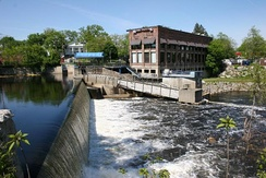 Nashua River Dam in 2006