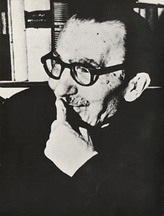 Nikos Kazantzakis, notable novelist and playwright