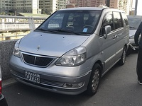 Taiwanese-market Serena pre-facelift