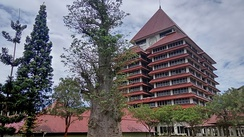 The University of Indonesia rectorate building