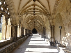 Interior of the cloisters