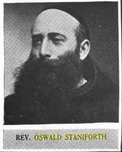 Oswald Staniforth, a 19th-century friar